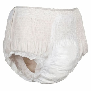 Attends(r) Super Plus Absorbency Pull-On Disposable Incontinence Underwear - Medium