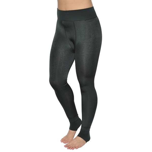1d655e123 Shop Women s Warm Winter Stirrup Leggings Medium Green - Free ...