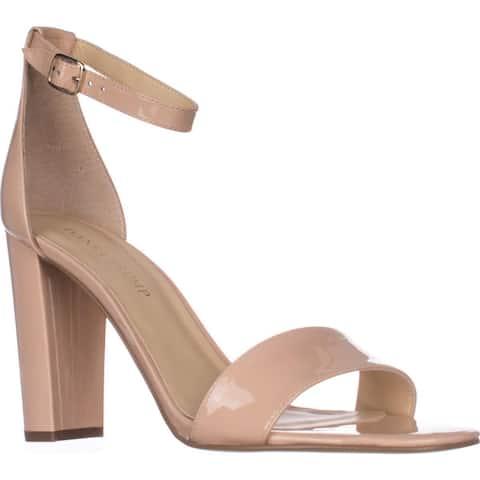 Ivanka Trump Emalyn Ankle Strap Dress Sandals, Medium Pink Patent