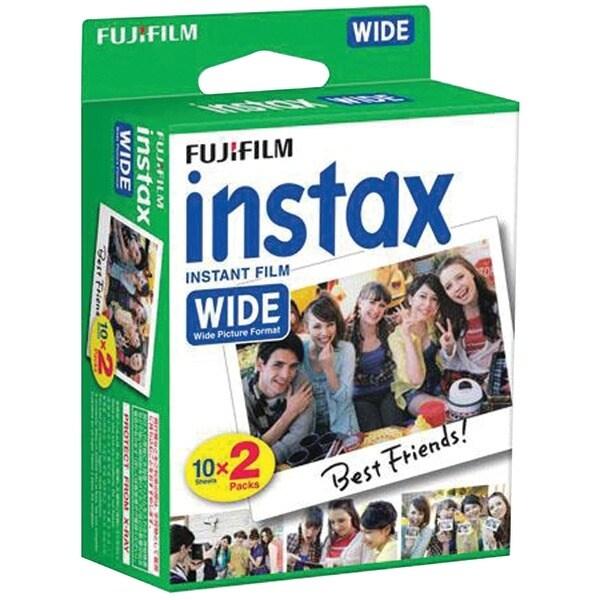 Fujifilm 16468498 Instax(R) Wide Film Twin Pack