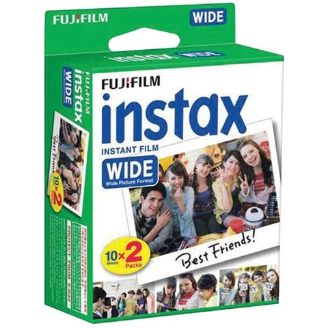Fujifilm 16468498 Instax(R) Wide Film Twin Pack