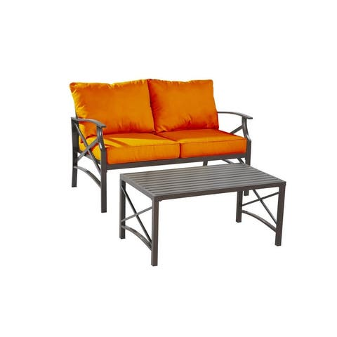 Luxi 2-piece set Loveseat with Coffee Table
