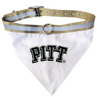 Collegiate Pitt Pet Collar Bandana