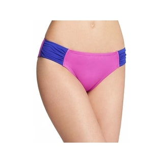 Tommy Bahama Women's Deck Piping TSW55807B Purple/Mare Small Swim Bikini