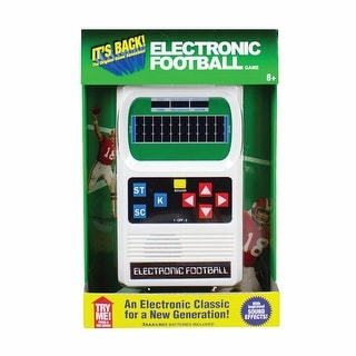 Retro Hand-Held Electronic Sports Game - Football - beige