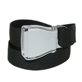 Buckle Down Airline Seatbelt Buckle Adjustable Belt