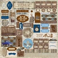 """Rugged Cardstock Stickers 12""""X12""""-Details"""