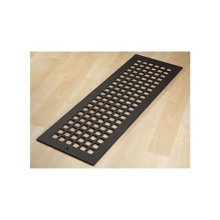 "Reggio Registers G824-SH Grid Series 22"" x 6"" Grille with Mounting Holes - N/A"