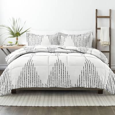 Becky Cameron Ultra Soft Diamond Stripe Down-Alternative Comforter