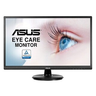"Refurbished - Asus VA249HE 23.8"" Full HD 1920x1080 Non Glare Monitor 250cd/m2 5ms VGA and HDMI"