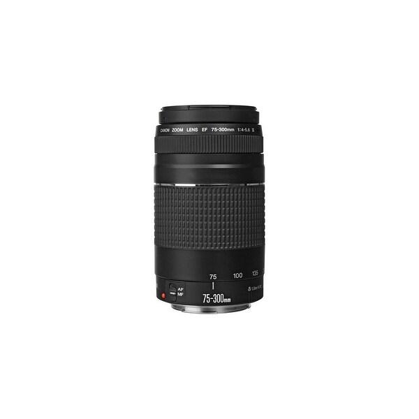 Canon Telephoto zoom lens Canon EF 75-300mm f/4-5.6 III Telephoto Zoom Lens for Canon SLR Cameras