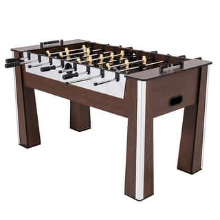 "riumph USA 60"" Milan Foosball Table / 45-6077W|https://ak1.ostkcdn.com/images/products/is/images/direct/eb20b152f68e4673efc7f494bb07edf3ee04a9b7/riumph-USA-60%22-Milan-Foosball-Table---45-6077W.jpg?impolicy=medium"