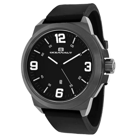 Oceanaut Men's Armada OC7110 Black Dial Watch
