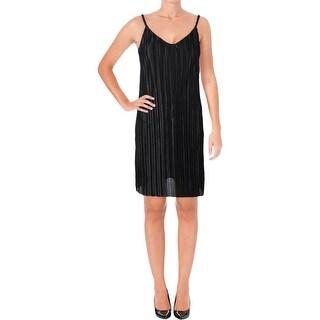 Aqua Womens Slip Dress Satin Mini