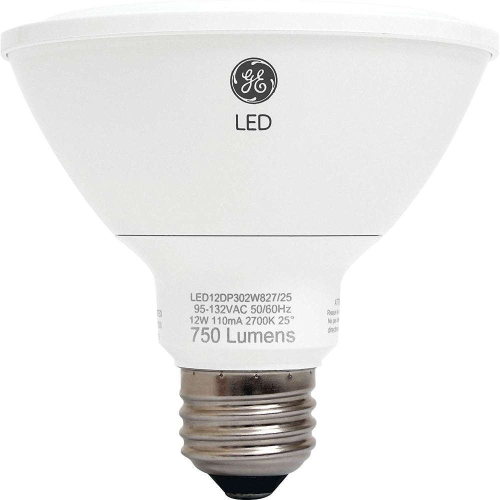 GE Lighting 89988 Energy-Smart LED 12-watt, 850-Lumen PAR30 Bulb with Medium Base (10-Pack)