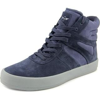 Creative Recreation Moretti Men Round Toe Suede Blue Sneakers