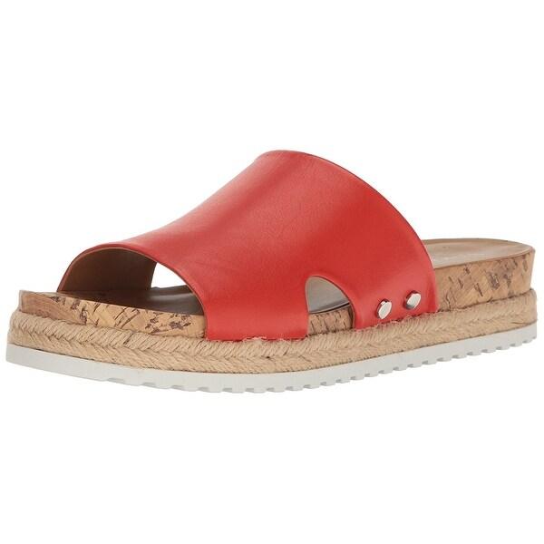 Franco Sarto Womens Elina Fabric Open Toe Casual Espadrille Sandals