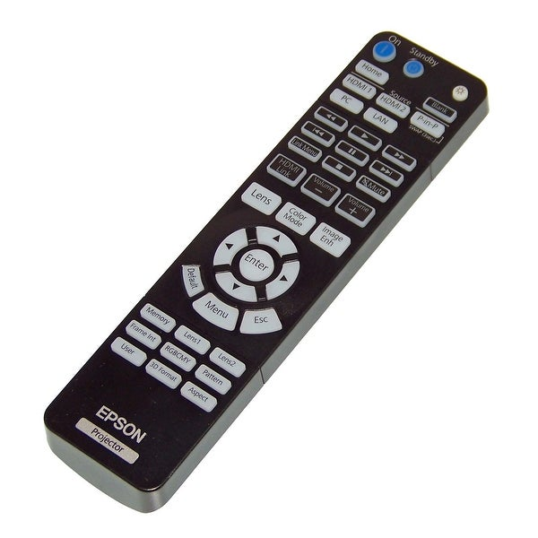 OEM Epson Remote Control Originally Shipped With: 1656526