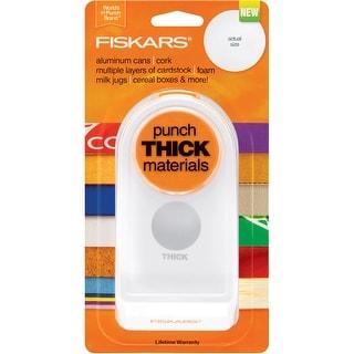 """Fiskars Thick Material Punch 1.5""""-Circle"""