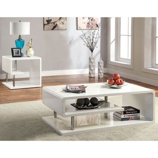 Link to Furniture of America Sord Contemporary 2-piece Accent Table Set Similar Items in Living Room Furniture