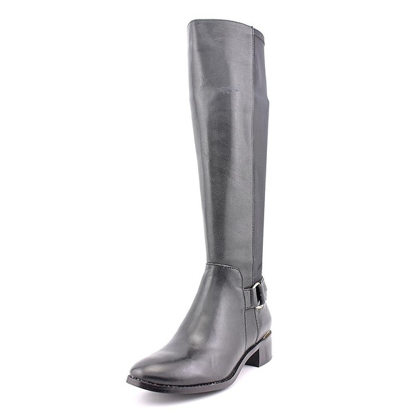 6f0329fc3a8e Shop Steve Madden Womens Ryperr Leather Almond Toe Knee High Fashion ...