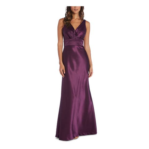 NIGHTWAY Purple Sleeveless Full-Length Dress 10