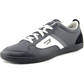 Diesel E-Serj Round Toe Leather Sneakers