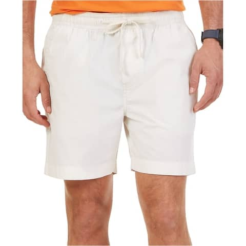 Nautica Mens Elastic Drawstring Casual Walking Shorts