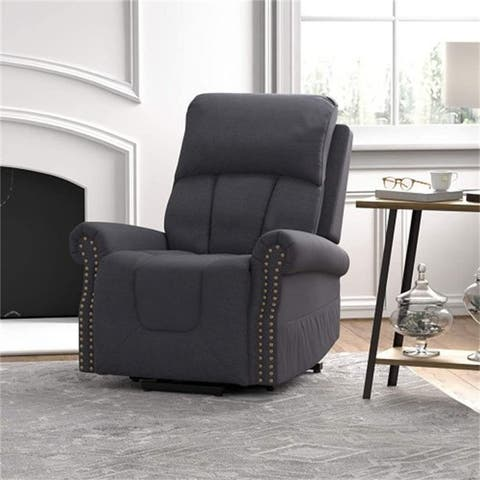 AOOLIVE 34.3 inches Wide Recliner Stable Chair