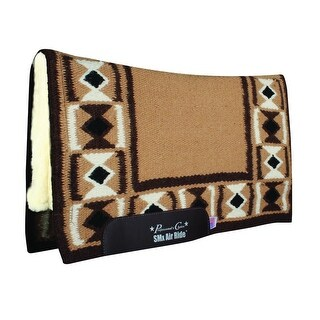 "Professional's Choice Saddle Pad Hourglass SMX Wool 1/2"" Core - 30 x 34"