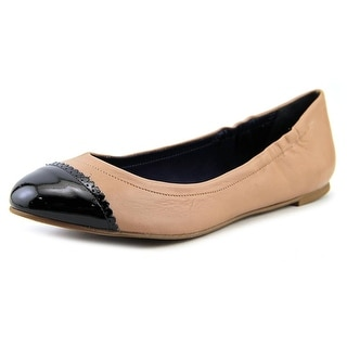 Jack Rogers Bree Women Round Toe Synthetic Nude Flats