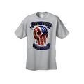 Men's T-Shirt USA Flag Skull Live Free Or Die Stars & Stripes Skeleton Bones Tee - Thumbnail 6