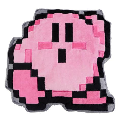 Kirby Nintendo 12 Inch Pillow Plush - 8 Bit Kirby - Multi