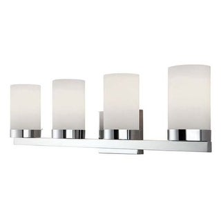 "Canarm IVL429A04 Milo 4 Light 30"" Wide Bathroom Vanity Light"