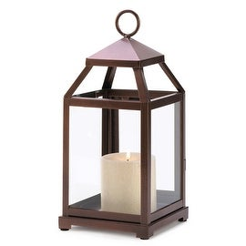 Bronze Lantern Hurricane Lamp