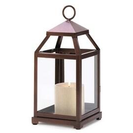 Bronze Lantern Hurricane Lamp