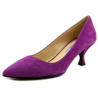 Prada Calzature Donna Women Pointed Toe Suede Heels