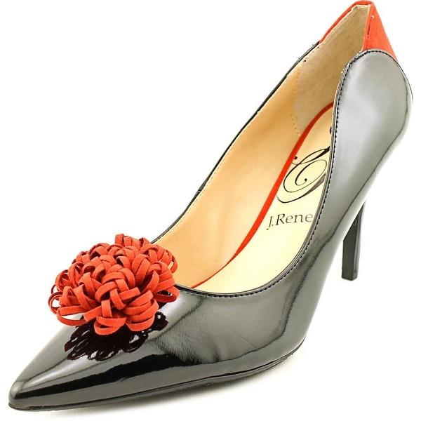 J. Renee Ranita Women Pointed Toe Synthetic Black Heels