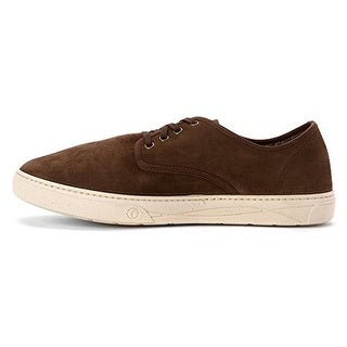 Natural World Mens Blucher Oxfords Suede Round Toe