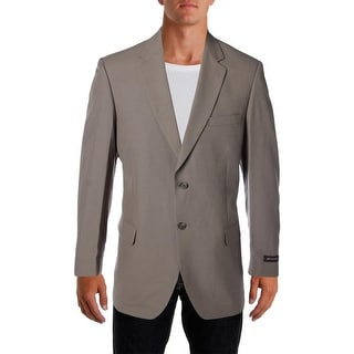 Bert Pulitzer Mens Classic Fit Wrinkle Resistant Two-Button Blazer