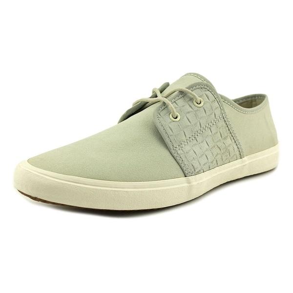 Aldo Gimignano Men Leather Gray Fashion Sneakers