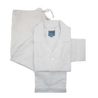Majestic International Men's Cotton Birdseye Woven Pajama Set