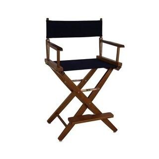 206-24-032-10 24 in. Extra-Wide Premium Directors Chair, Oak