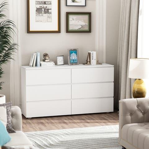 6-drawer Uitility Storage Cabinet Dresser