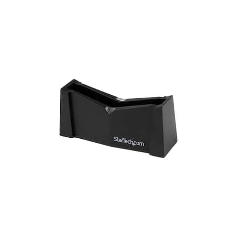 StarTech SATDOCK25U StarTech.com USB to SATA External Hard Drive Docking Station for 2.5in SATA HDD - USB - Black