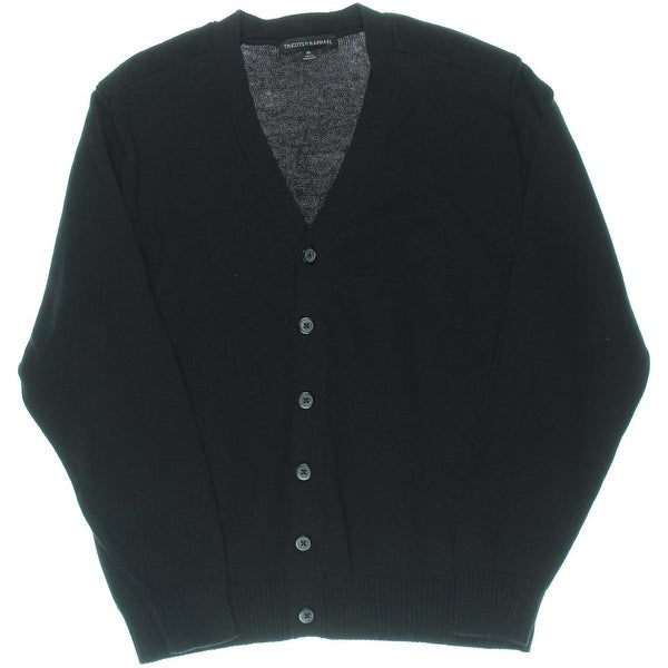 Tricots St. Raphael Mens Cardigan Sweater Button Front V-Neck