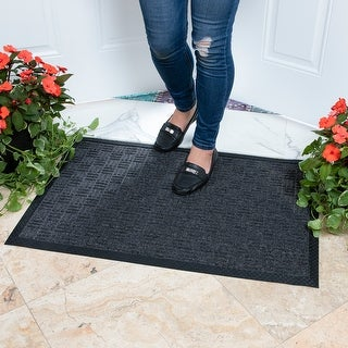 DirtOff Loop Carpet Natural Rubber Door Mat