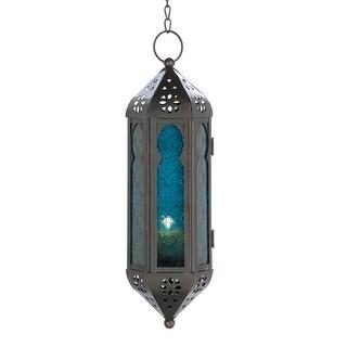 Ocean Blue Serenity Hanging Lamp
