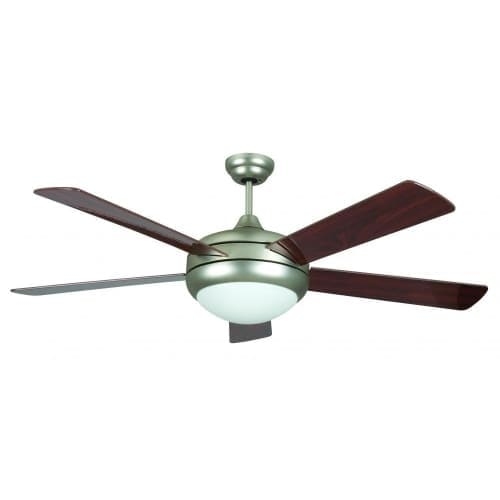 """Concord 52SAT5E Energy Star Certified 5 Blade 52"""" Ceiling Fan with Down light from the Saturn Collection"""