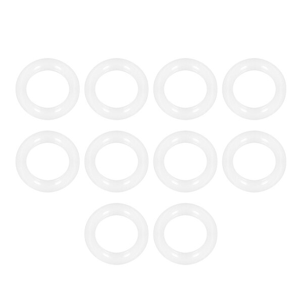 Silicone O-Rings, 12mm Inner Diameter, 18mm OD, 3mm Width, Seal Gasket 10pcs